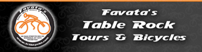 Sponsored by Favata's Table Rock Tours & Bicycles